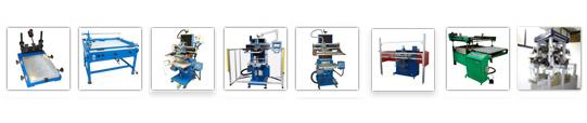 Screen printing machines new & used