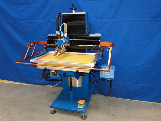 auto silk screen printing machine